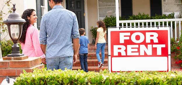 Get information about buying or renting a home