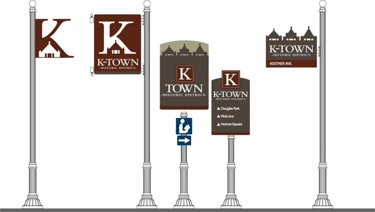 K-Town sign designs